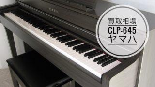 買取相場 ヤマハCLP-645